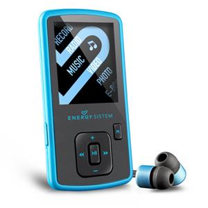 Energy Sistem Energy MP4 Slim 3 Electric-Blue Music Player